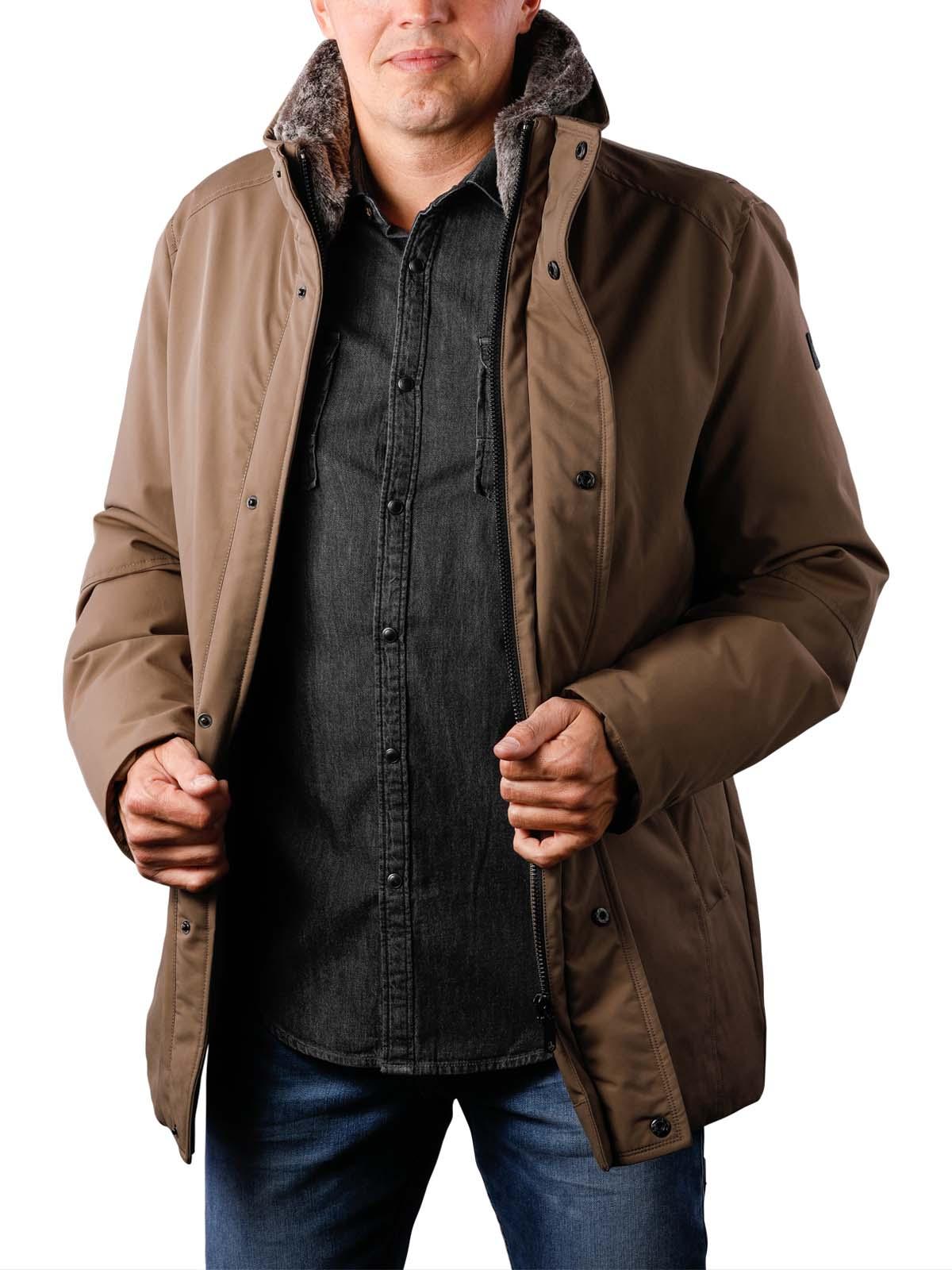 Milestone Marcel Jacket middle brown