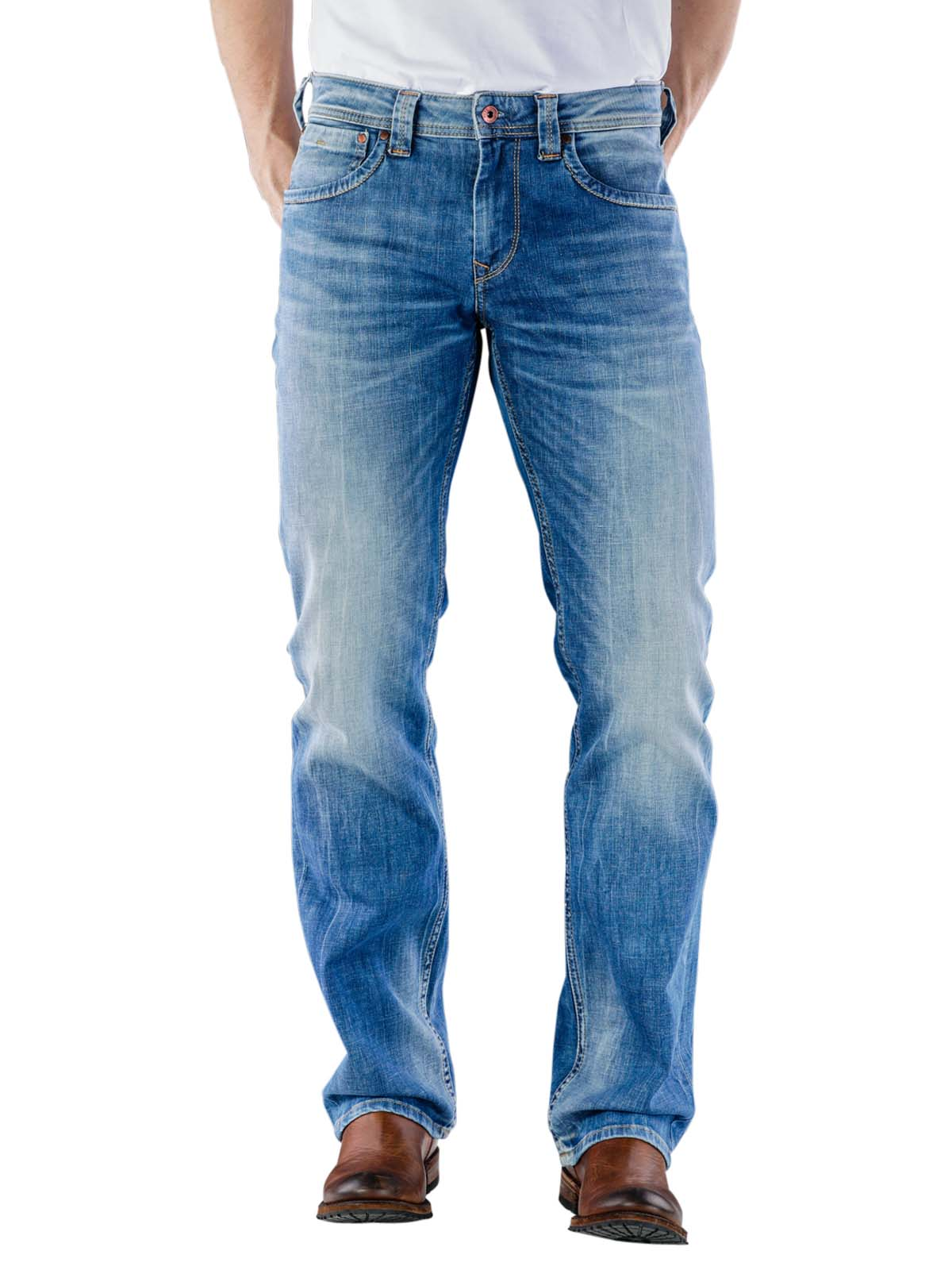 Pepe Jeans Kingston Zip Medium Used Denim Pepe Jeans Men S Jeans Free Shipping On Bebasic Ch Simply Look Good