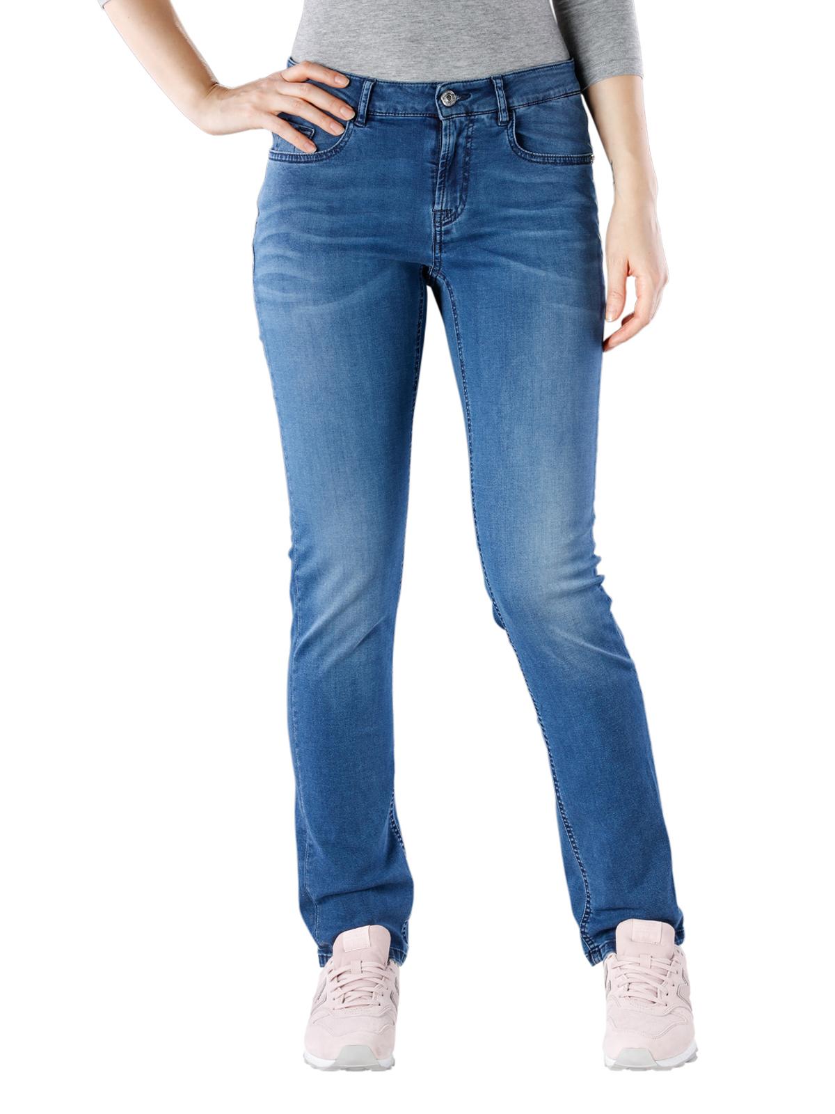 Alberto Julia Jeans T400 Satin blue Alberto Damen Jeans