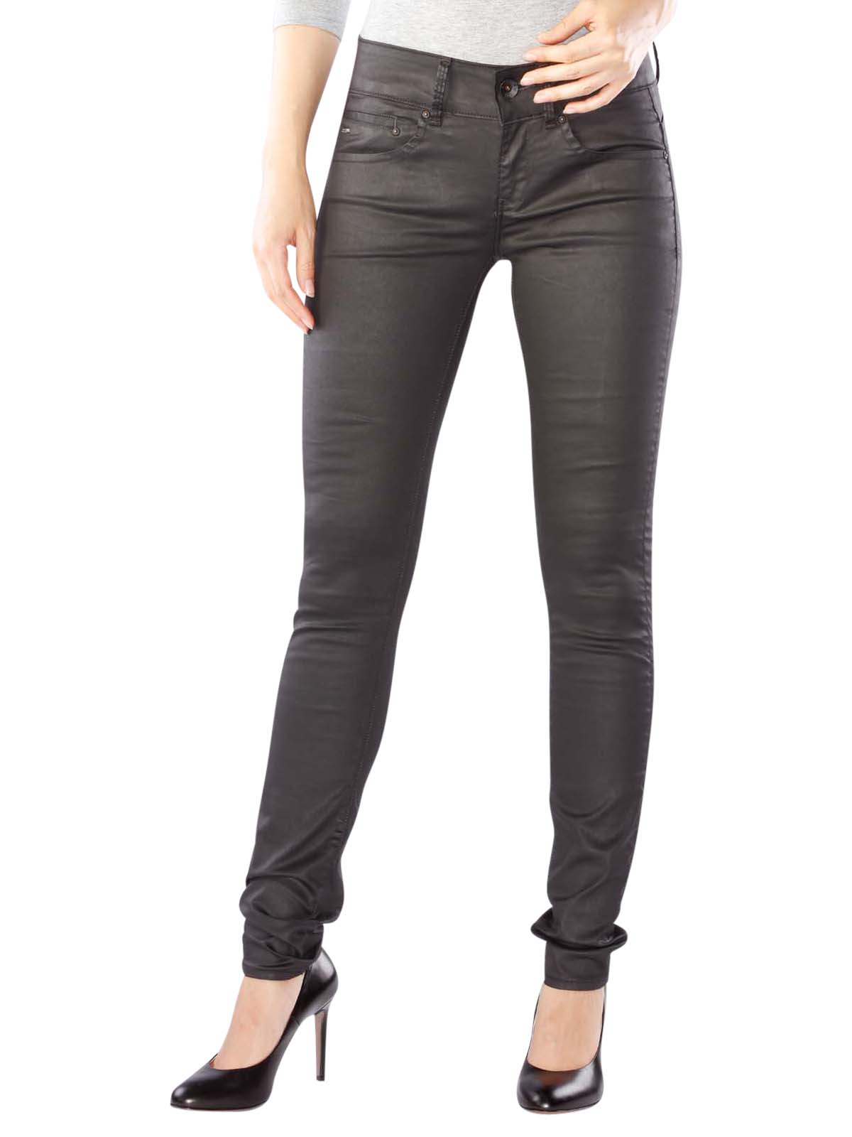 G Star Midge Cody Mid Skinny Jeans rinsed G Star Damen Jeans