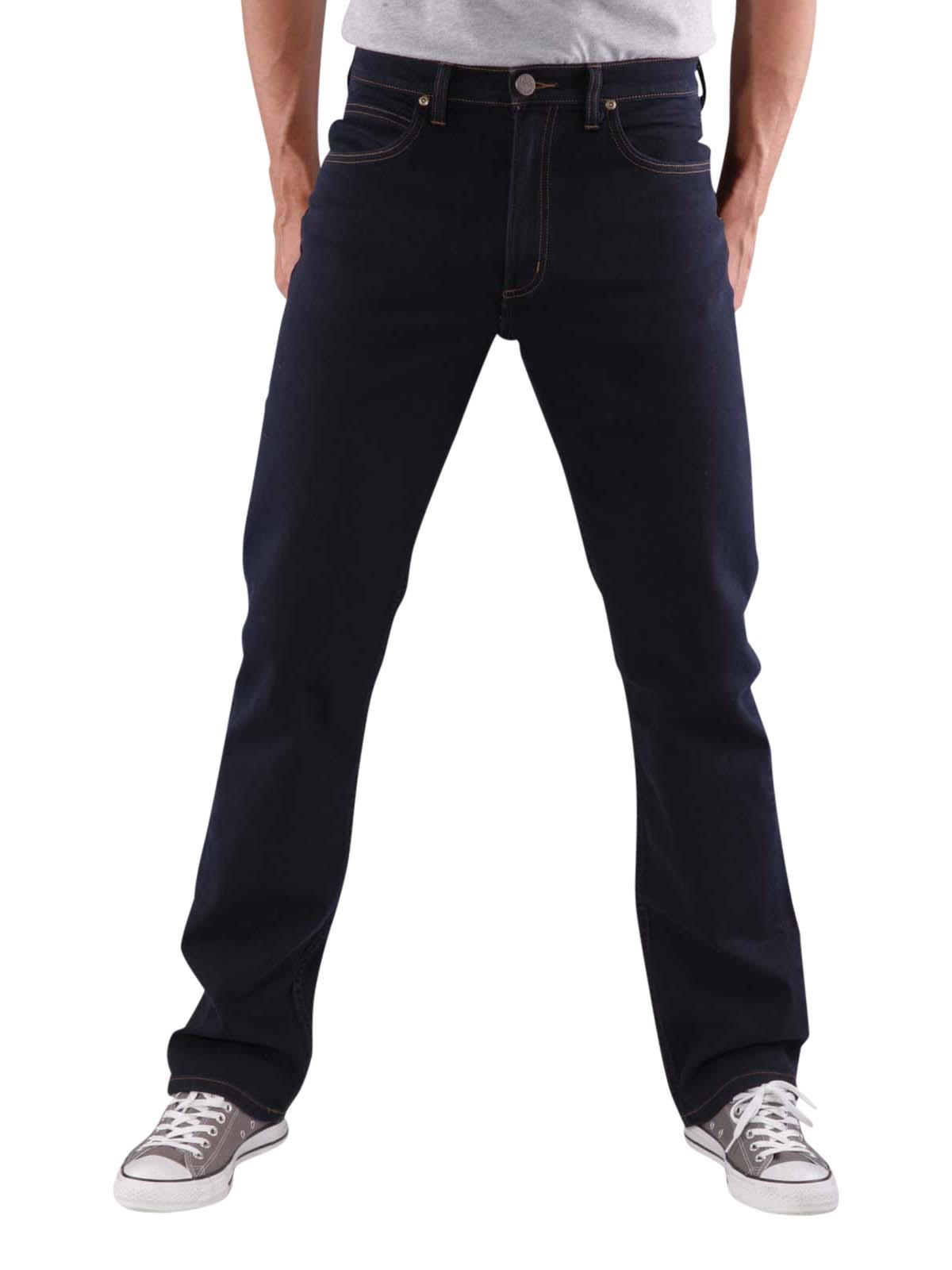 Lee Brooklyn Straight Jeans blue black Lee Men's Jeans