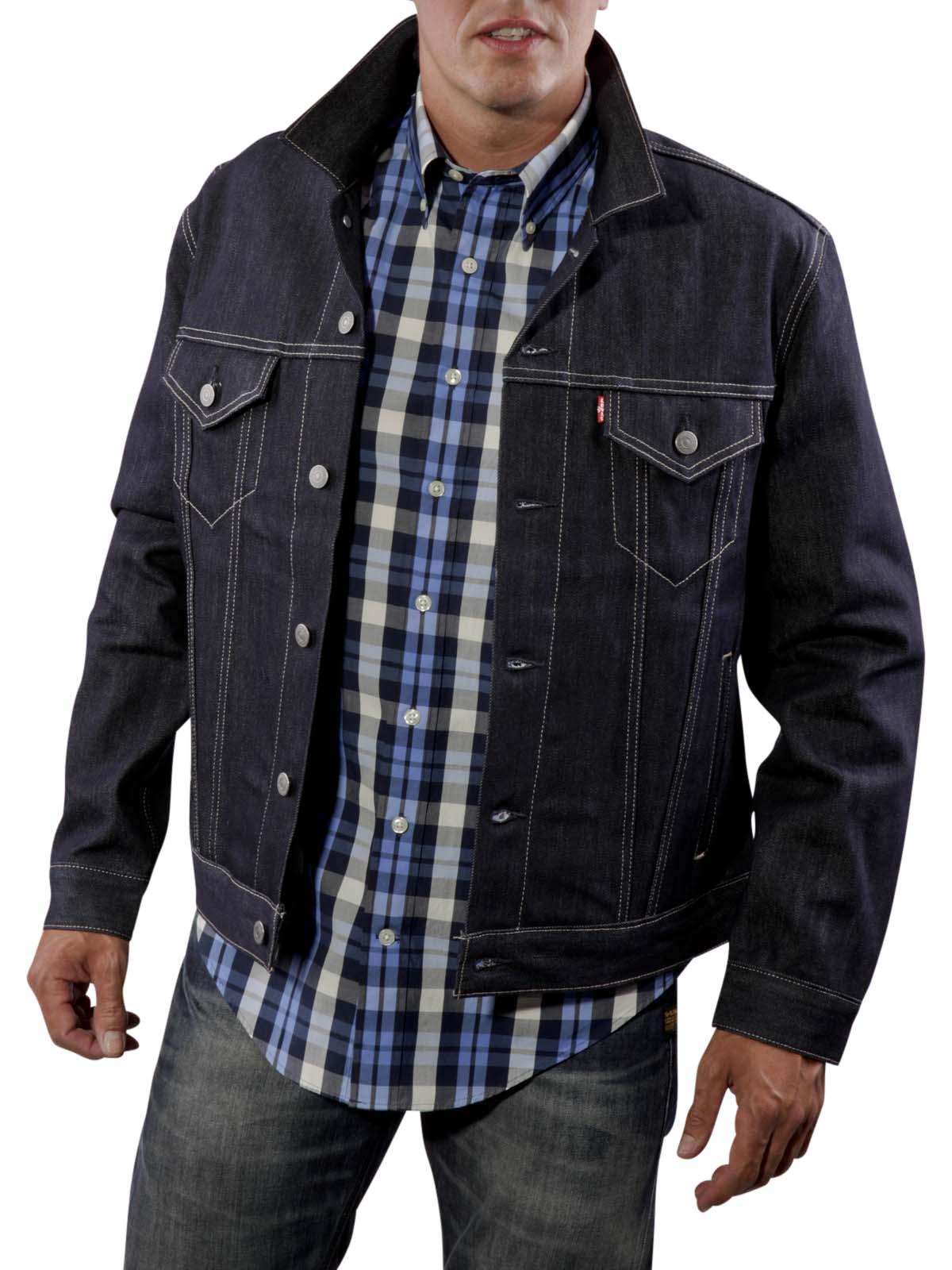 Levi's Trucker Jacket navy Levi's Herren Jacke | Gratis