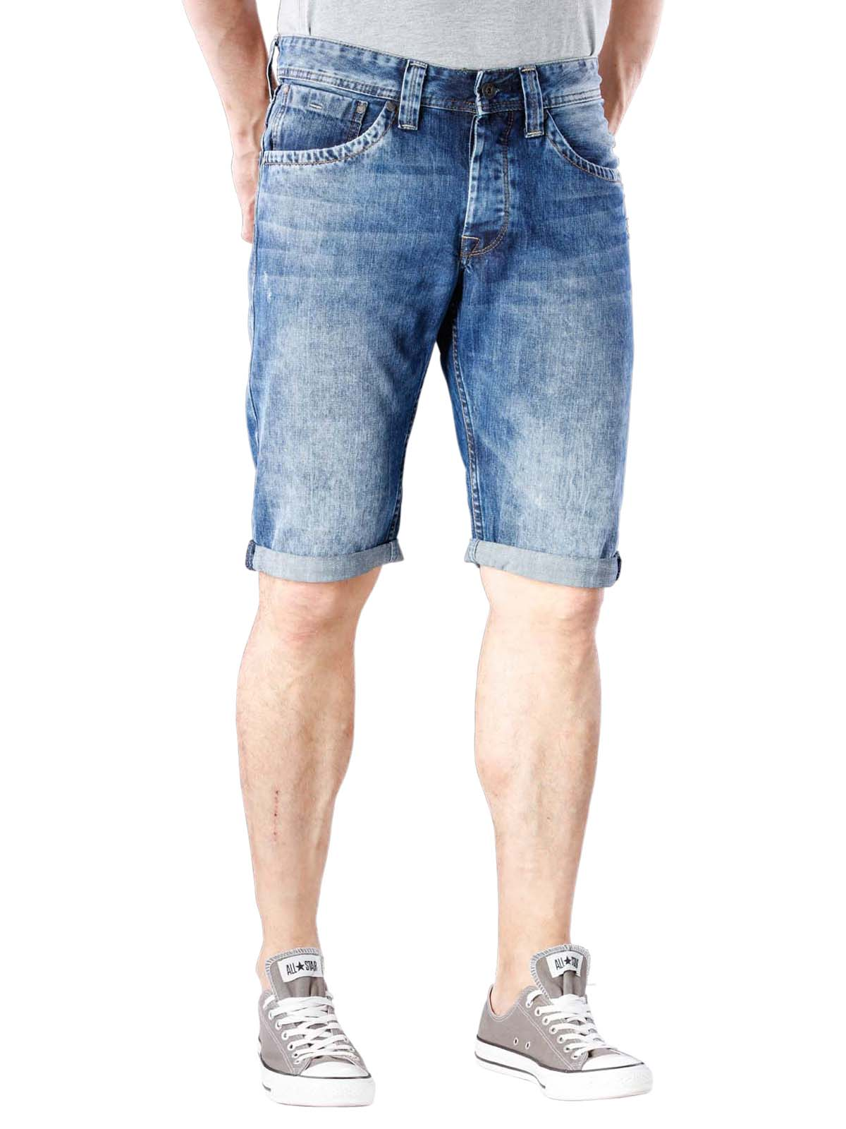 Pepe Jeans Cash Short denim blue Pepe Jeans Men's Shorts | Free Shipping on  BEBASIC.CH - SIMPLY LOOK GOOD