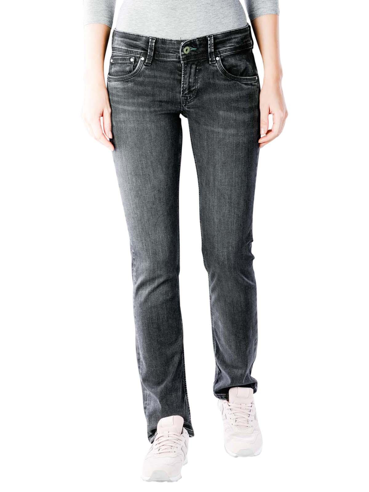 online retailer 840c4 cdfc8 Pepe Jeans Saturn black wiser wash Pepe Jeans Women's Jeans ...