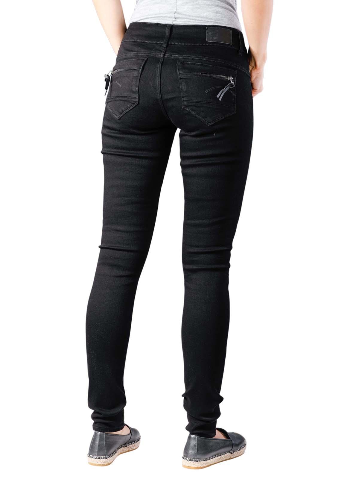 W33 L34 Medium Aged G-Star Midge Cody Skinny WMN Jeans